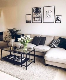 Easy And Simple Neutral Living Room Design Ideas 48