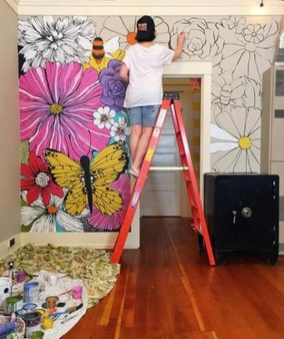 Gorgeous Wall Painting Ideas That So Artsy 11