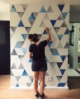 Gorgeous Wall Painting Ideas That So Artsy 40