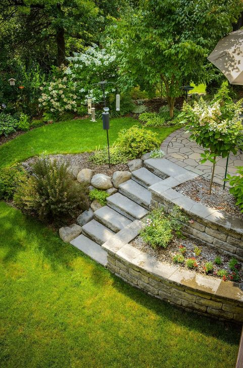 Inspiring Backyard Landscaping Ideas For Your Home 24