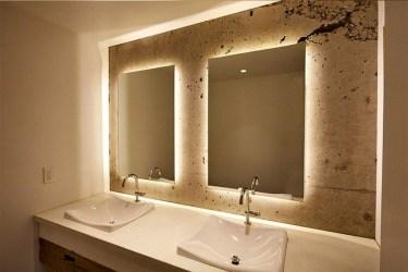 Luxurious Bathroom Mirror Design Ideas For Bathroom 31