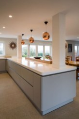 Magnificient Open Plan Kitchen With Feature Island Ideas 01