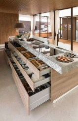Magnificient Open Plan Kitchen With Feature Island Ideas 02