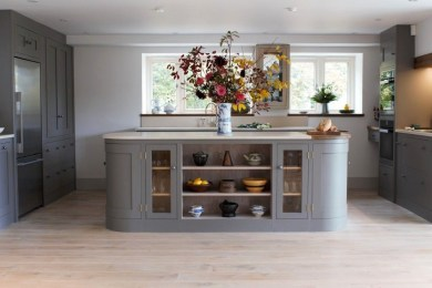 Magnificient Open Plan Kitchen With Feature Island Ideas 17