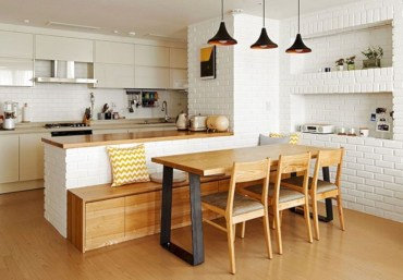 Magnificient Open Plan Kitchen With Feature Island Ideas 36