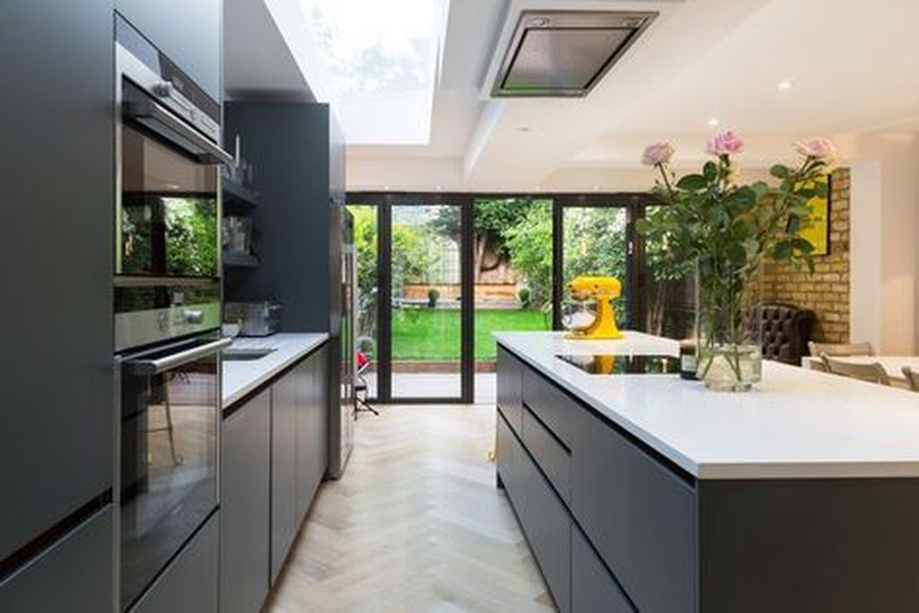 50 Magnificient Open Plan Kitchen With Feature Island Ideas ...