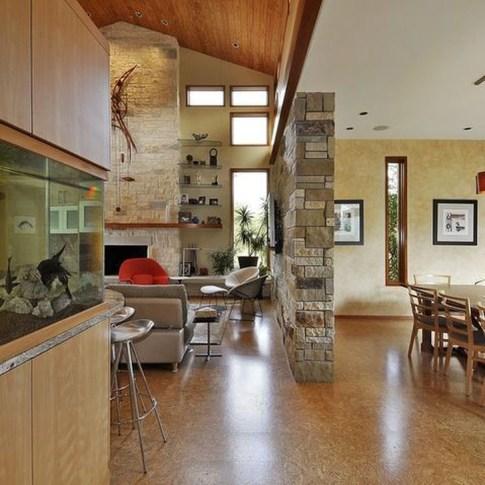 Modern Aquarium Partition Ideas For Living Room 47