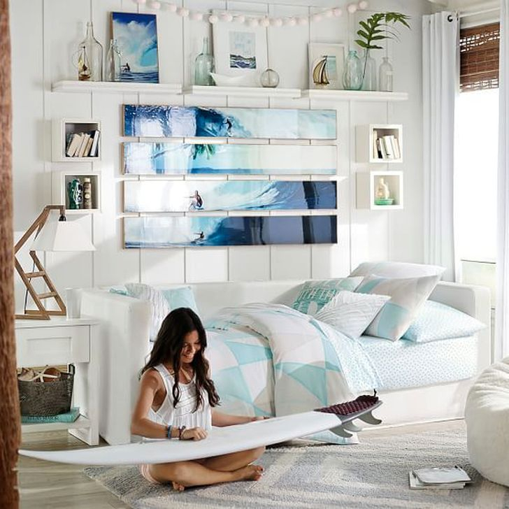 Outstanding Beach Decoration Ideas For Bedroom 06
