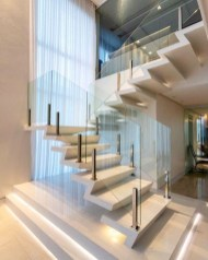 Perfect Glass Staircase Design Ideas 03