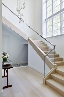 Perfect Glass Staircase Design Ideas 11