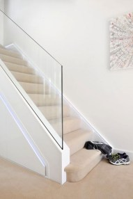 Perfect Glass Staircase Design Ideas 22