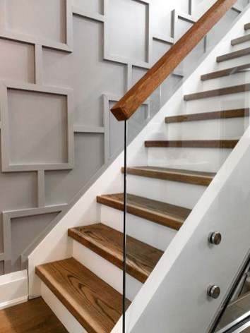 Perfect Glass Staircase Design Ideas 25