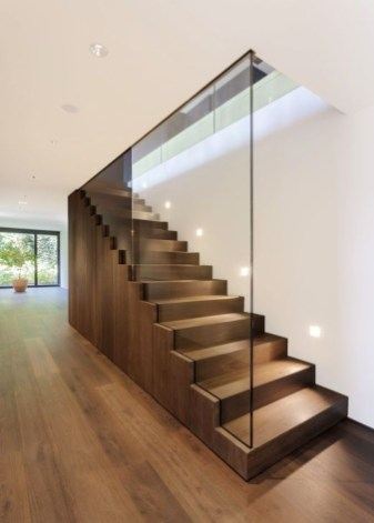 Perfect Glass Staircase Design Ideas 27