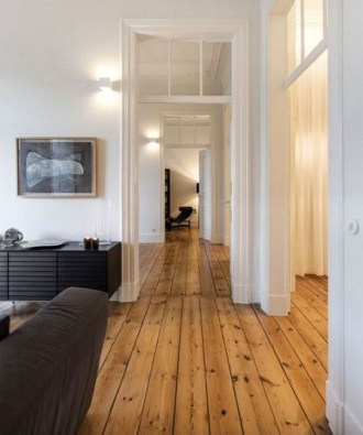 Rustic Wooden Flooring Ideas For The New House 10