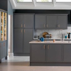 Stunning Dark Grey Kitchen Design Ideas 01