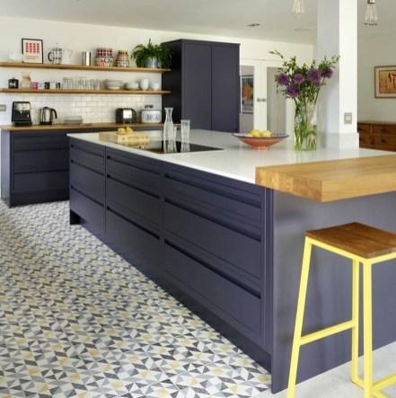 Stunning Dark Grey Kitchen Design Ideas 06