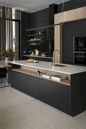 Stunning Dark Grey Kitchen Design Ideas 12