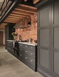 Stunning Dark Grey Kitchen Design Ideas 17