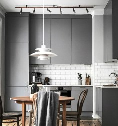 Stunning Dark Grey Kitchen Design Ideas 18