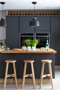 Stunning Dark Grey Kitchen Design Ideas 23