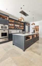 Stunning Dark Grey Kitchen Design Ideas 26
