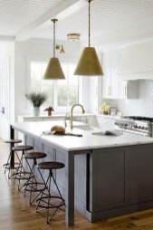 Stunning Dark Grey Kitchen Design Ideas 33