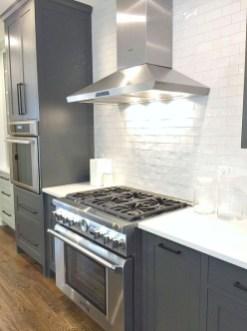 Stunning Dark Grey Kitchen Design Ideas 44