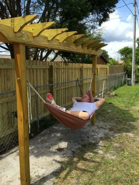 Affordable Backyard Hammock Decor Ideas For Summer Vibes 43