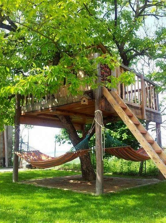 Affordable Backyard Hammock Decor Ideas For Summer Vibes 49