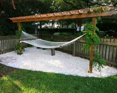 Affordable Backyard Hammock Decor Ideas For Summer Vibes 51