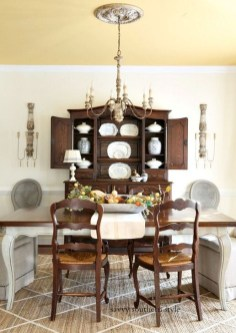Amazing Dining Room Design Ideas With French Style 15