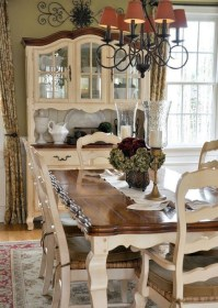 Amazing Dining Room Design Ideas With French Style 30