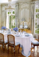 Amazing Dining Room Design Ideas With French Style 40