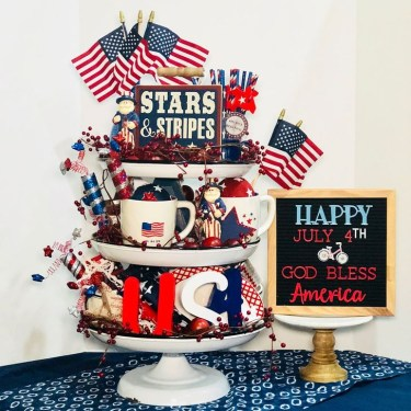 Awesome 4th Of July Home Decor Ideas On A Budget 06