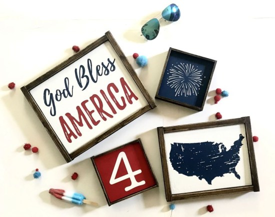 Awesome 4th Of July Home Decor Ideas On A Budget 24