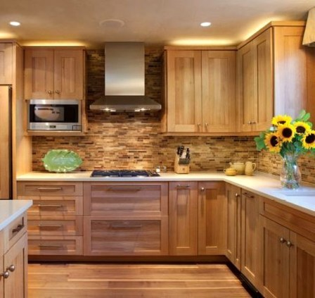 Contemporary Wooden Kitchen Cabinets For Home Inspiration 08