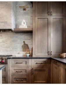 Contemporary Wooden Kitchen Cabinets For Home Inspiration 22