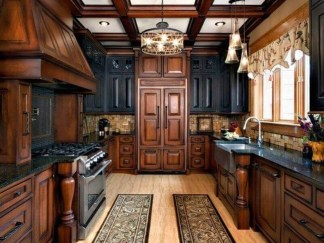 Contemporary Wooden Kitchen Cabinets For Home Inspiration 42