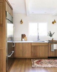 Contemporary Wooden Kitchen Cabinets For Home Inspiration 44