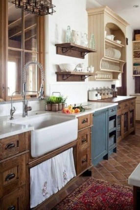 Contemporary Wooden Kitchen Cabinets For Home Inspiration 45