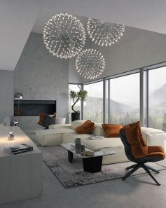 Creative Lighting Decor Ideas For Living Room Design 03