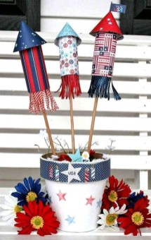 Easy And Cheap DIY 4th Of July Decoration Ideas 36