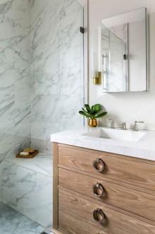 Elegant Wood Decor Ideas For Your Bathroom Design 13