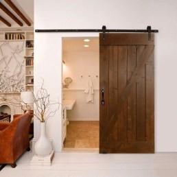 Elegant Wood Decor Ideas For Your Bathroom Design 29