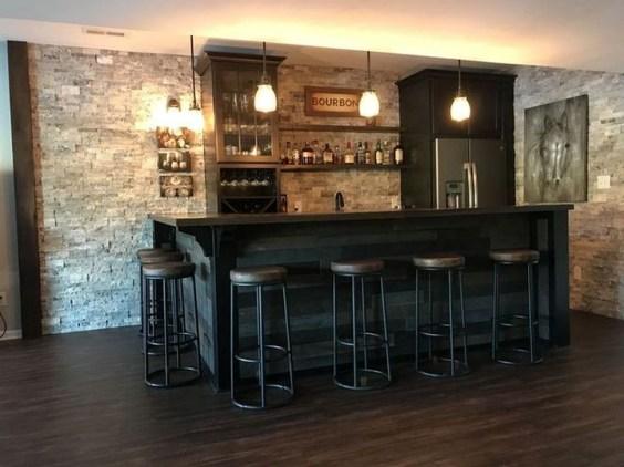 Fabulous Home Bar Designs You'll Go Crazy For 50