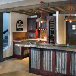 Fabulous Home Bar Designs You'll Go Crazy For 54