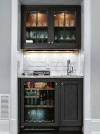 Fabulous Home Bar Designs You'll Go Crazy For 56