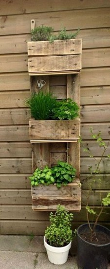 Genius DIY Projects Pallet For Garden Design Ideas 06