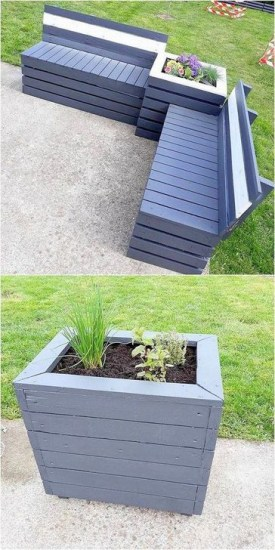 Genius DIY Projects Pallet For Garden Design Ideas 07