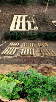 Genius DIY Projects Pallet For Garden Design Ideas 37